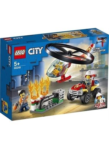 Lego 60248 Lego® City Itfaiye Helikopteri Müdahalesi / 93 Parça / +5 Yaş Renkli